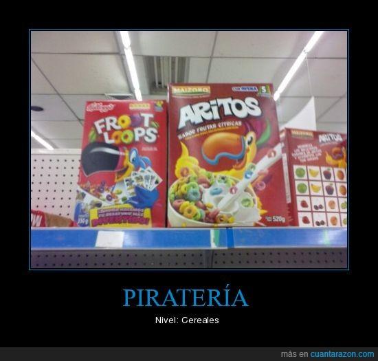 cereal,copia,pirateria
