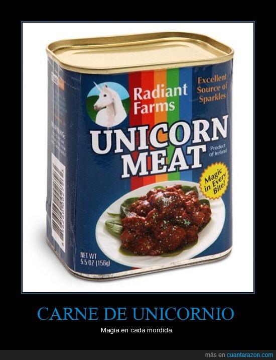 carne,comida,unicornio