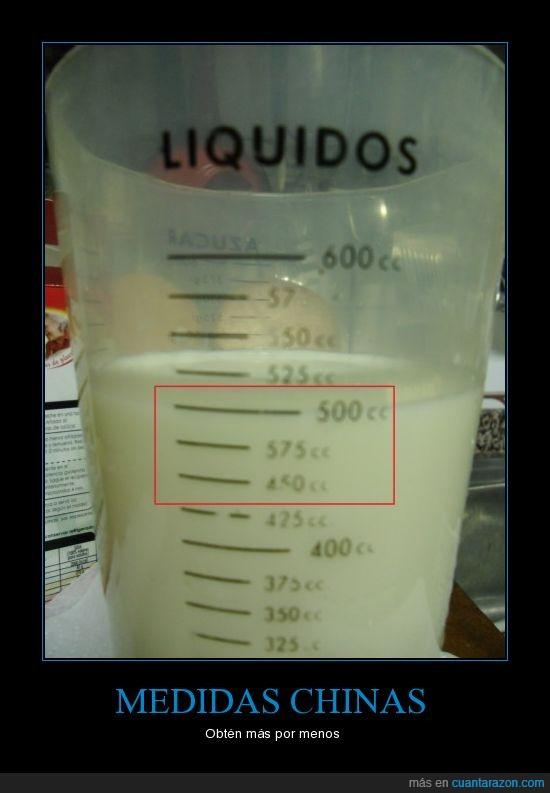 chino,liquido,medida