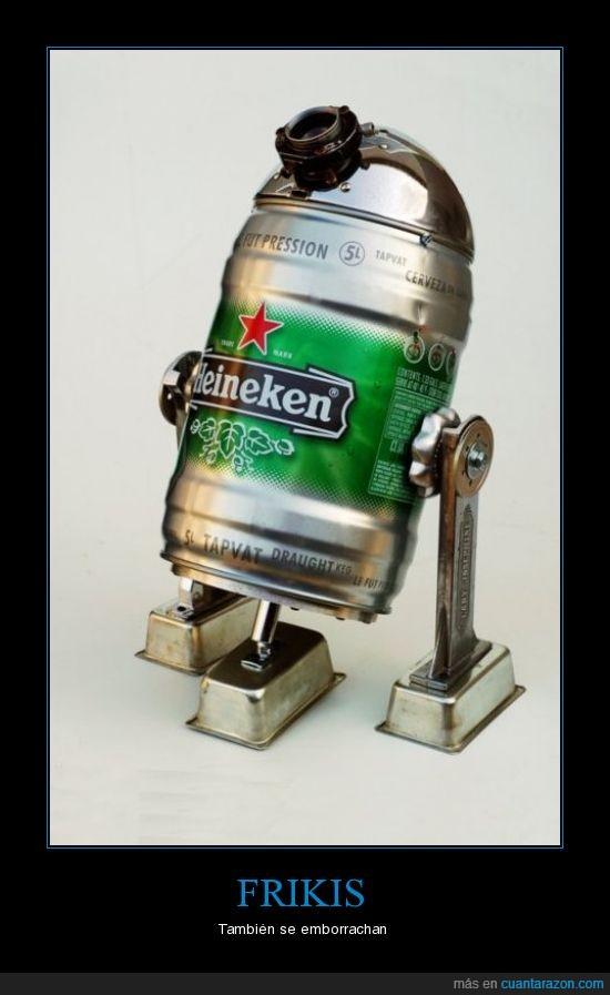 cerveza,heineken,jedi,r2d2,star wars