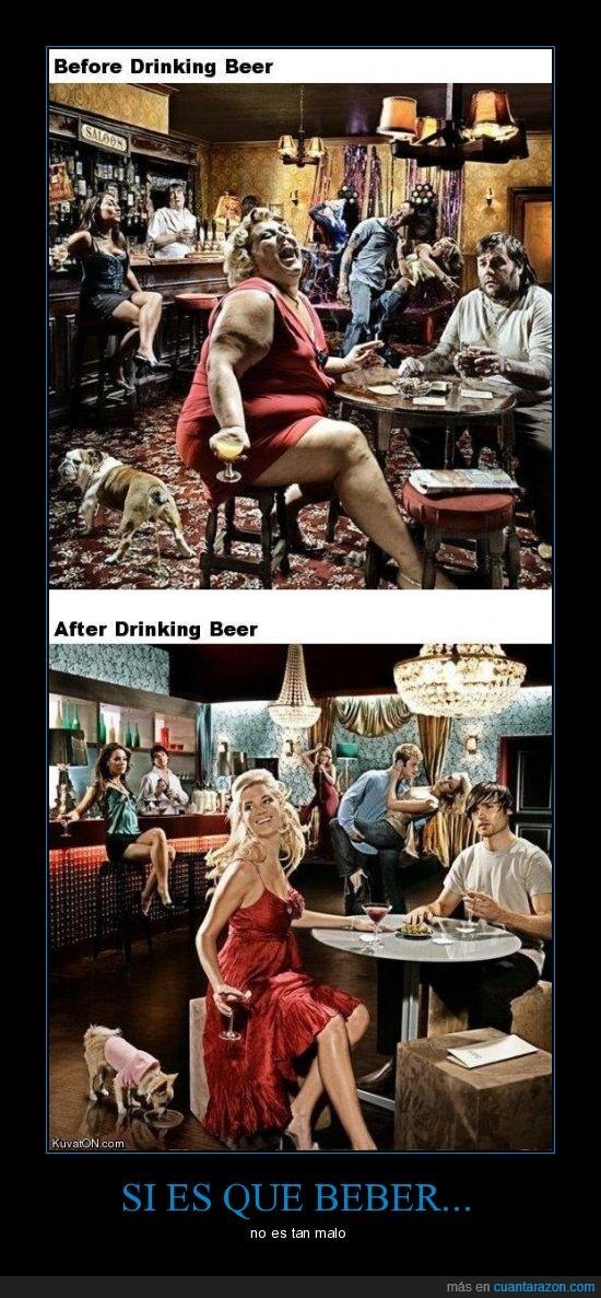 bar,beber,delgados,gordo,imagen,jovenes,viejo