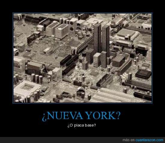 confusión,confuso,nueva york,placa base
