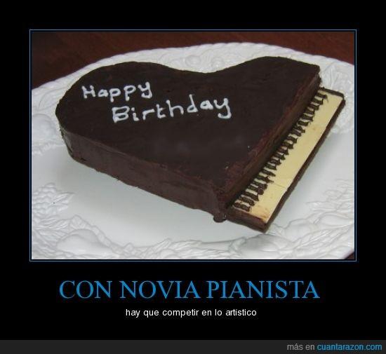 pastel,piano,torta,wow