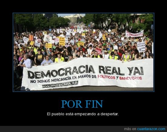15 mayo,Democracia real ya,democraciarealya.es,Manifestacion,manos,mercancia,politico