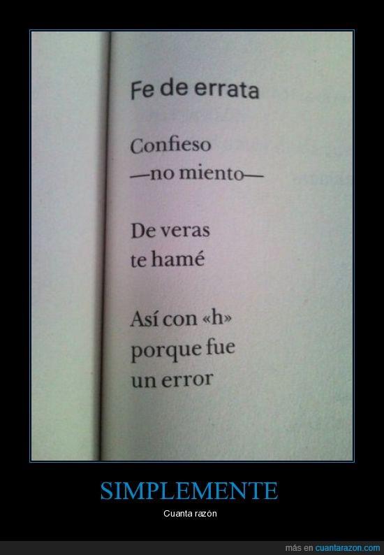 amar,errata,error