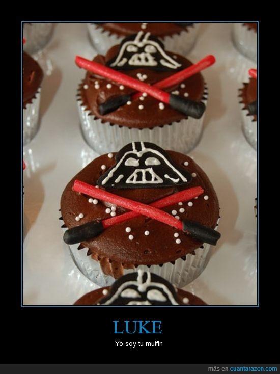 darth vader,muffins