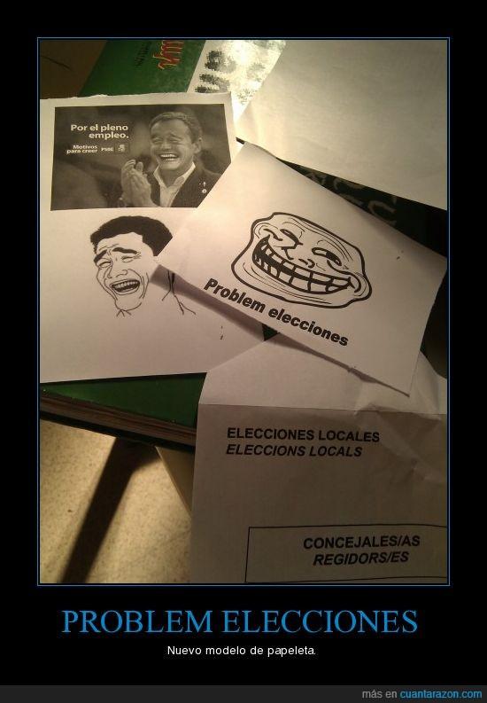 elecciones,papeletas,votar