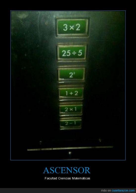 ascensor,boton,facultad,matematicas,operación,pulsar