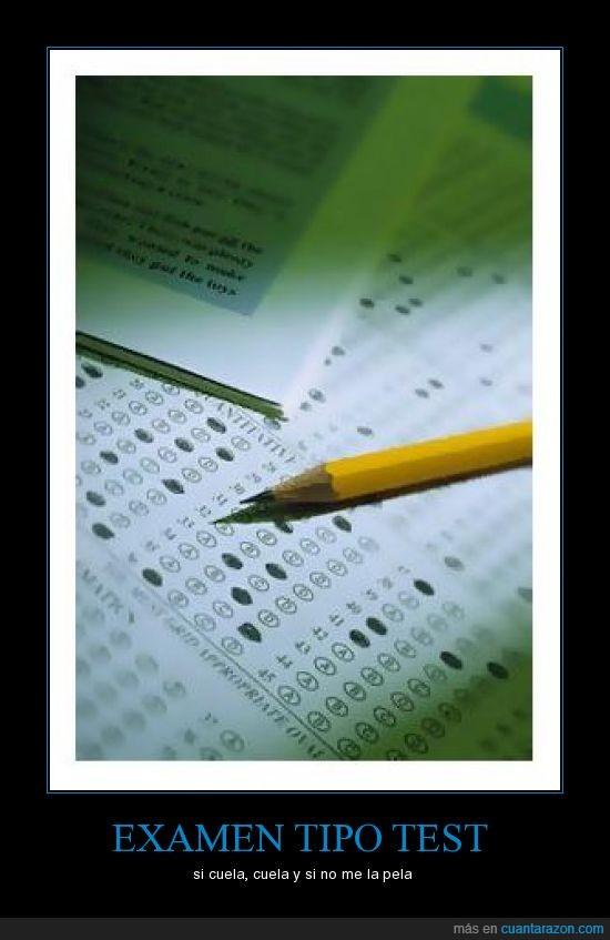 colar,examen,test