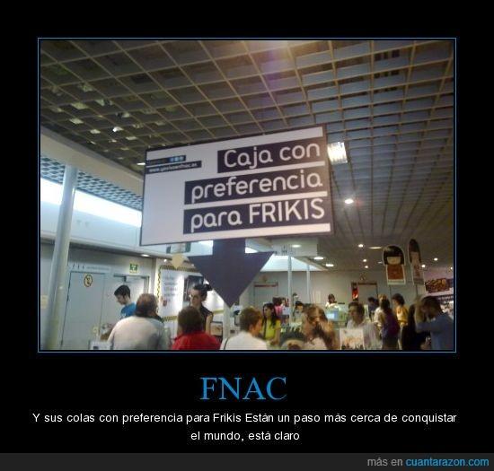 Colas,Fnac Madrid,Frikis