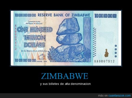 billetes,dolares,trilión,zimbabwe