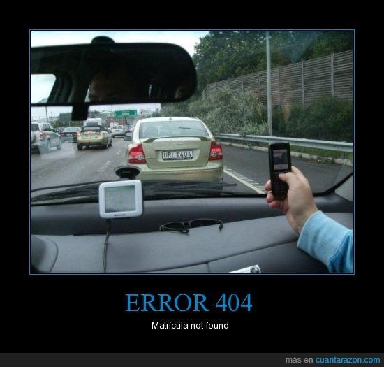 error 404,matricula,url