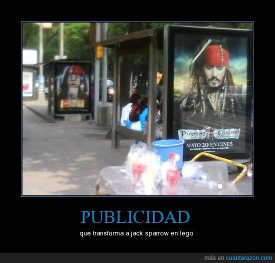 jack sparrow,lego,piratas del caribe,publicidad
