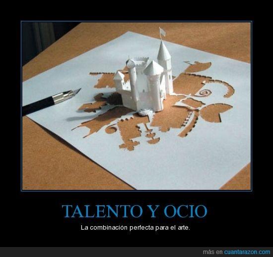 arte,ocio,talento