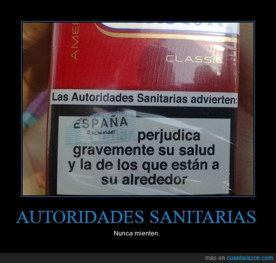Autoridades,España,Sanitarias,Tabaco,Winston