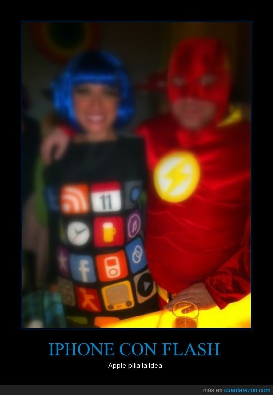 carnaval,flash,iphone