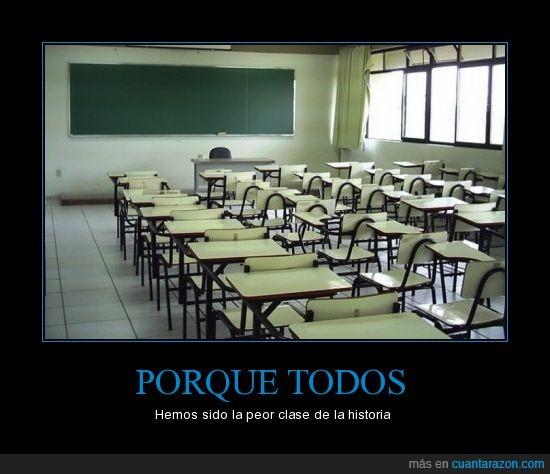 aula,clase,historia,peor,vacía