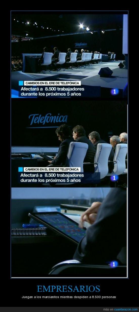 Empresarios,ERE,iPad,Noticias,Proletariado,Telefónica