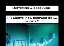 Enlace a MISTERIOS A RESOLVER