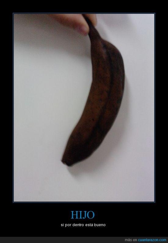 bueno,madres,negro,plátano
