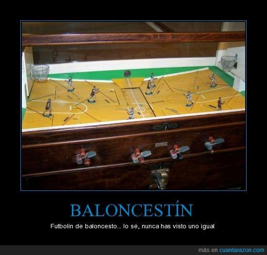 baloncestín,baloncesto,futbolín