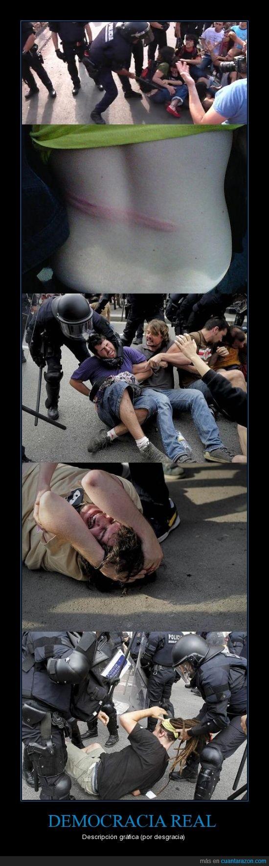 democracia,manifestante,mossos,ostia,policia,politica,real