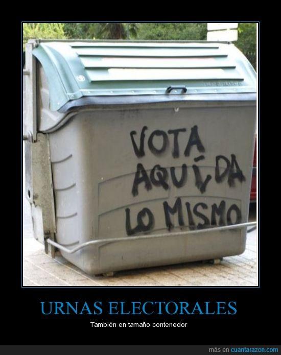 Albacete,Contenedor,Elecciones 2011