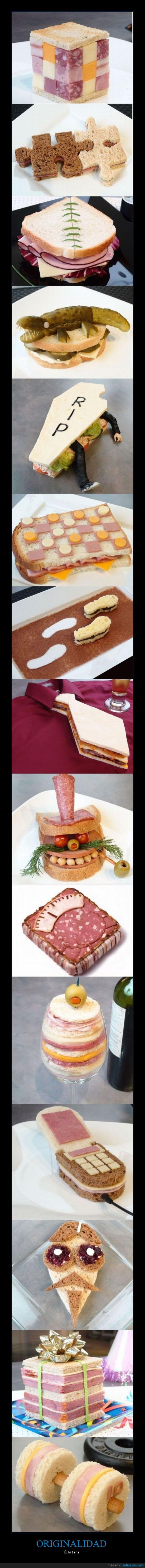 imaginacion,increible,original,sándwiches