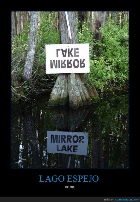 alucinante,espejo,lago