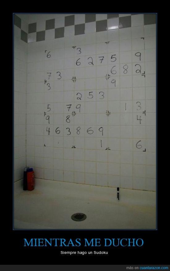 baño,juegos,pared,sudoku