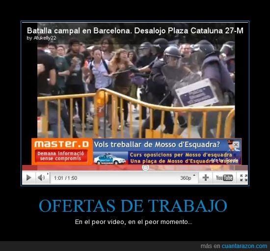 ironía,mossos,policía,publicidad