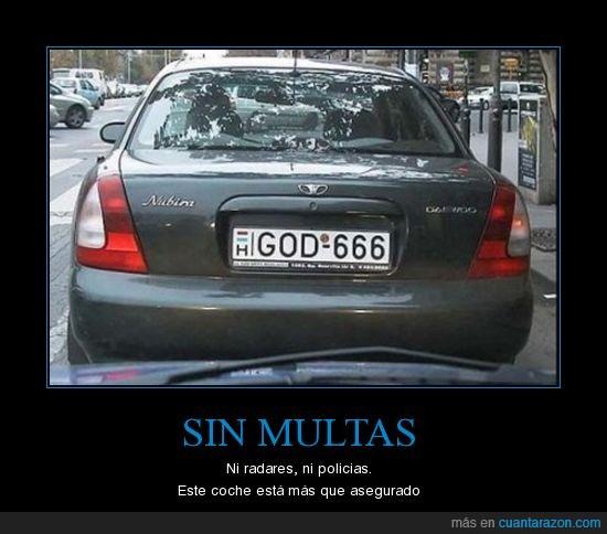 coche,diablo,dios,satanas