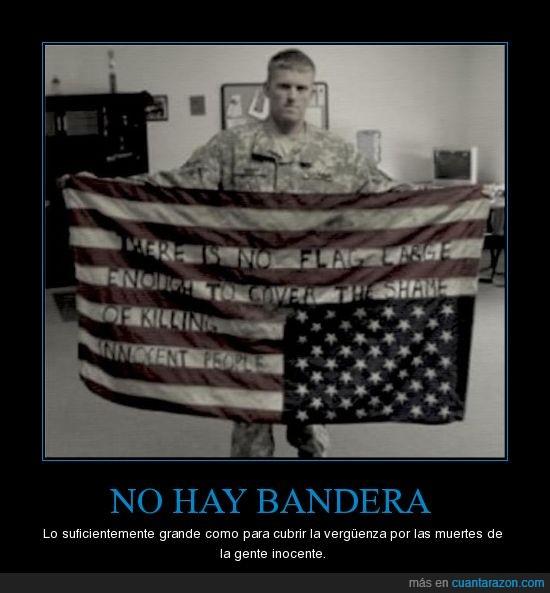 america,Bandera,Estados Unidos,inocente,muertes,verguenza