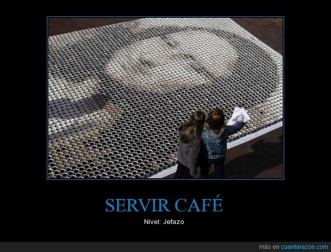 boss,cafe,lisa,mona,servir