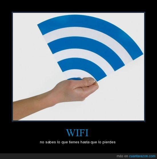 perder,tener,wifi
