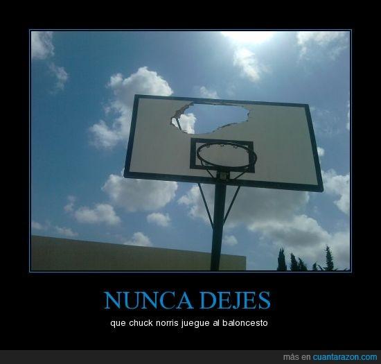 baloncesto,chuck norris