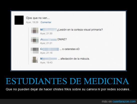 estudiantes,Friki,medicina