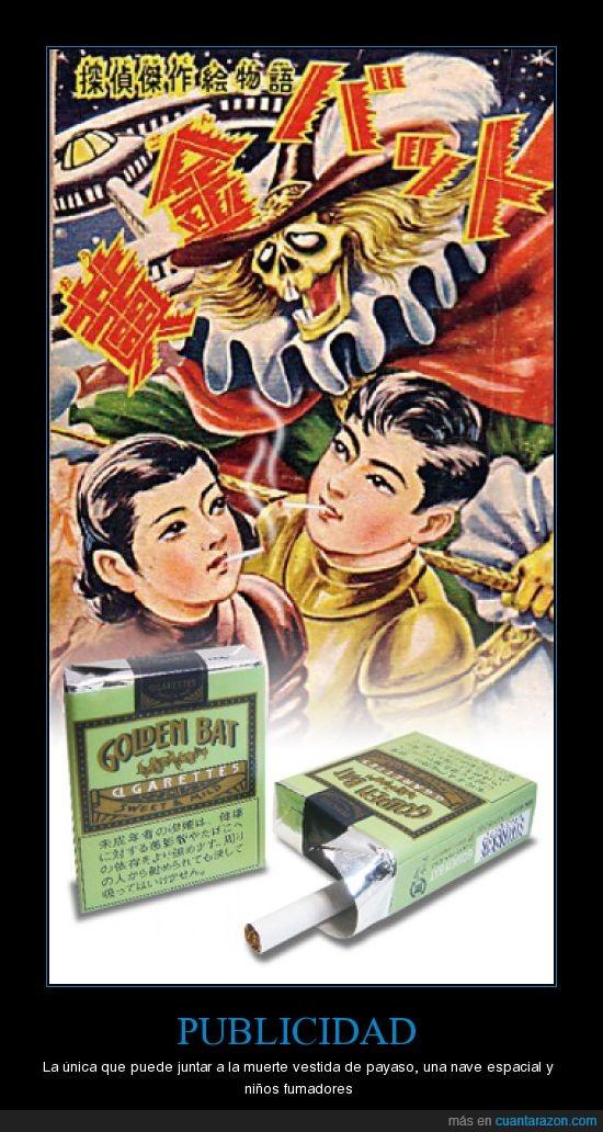 cigarros,muerte,niños,publicidad