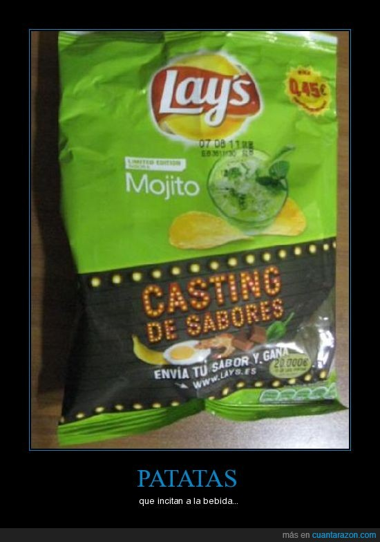 bolsa,lays,mojito,patatas