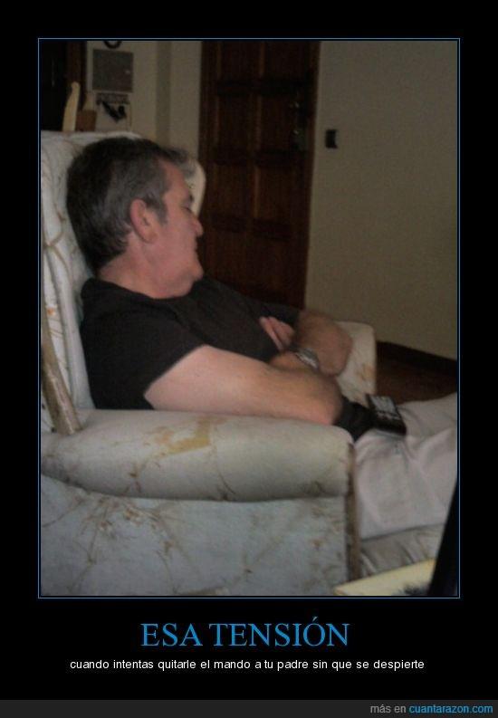 dormir,mando,reto,sofa,televisión