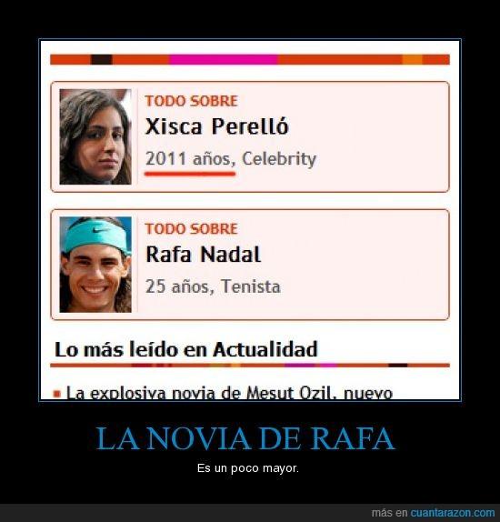 Mayor,Novia,Rafa Nadal,xisca