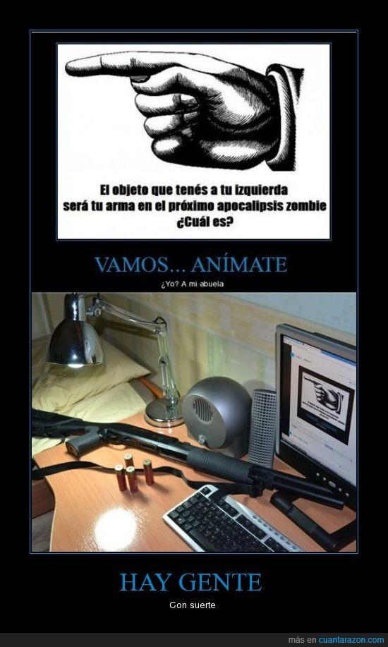 apocalipsis zombie,arma,bala,escopeta