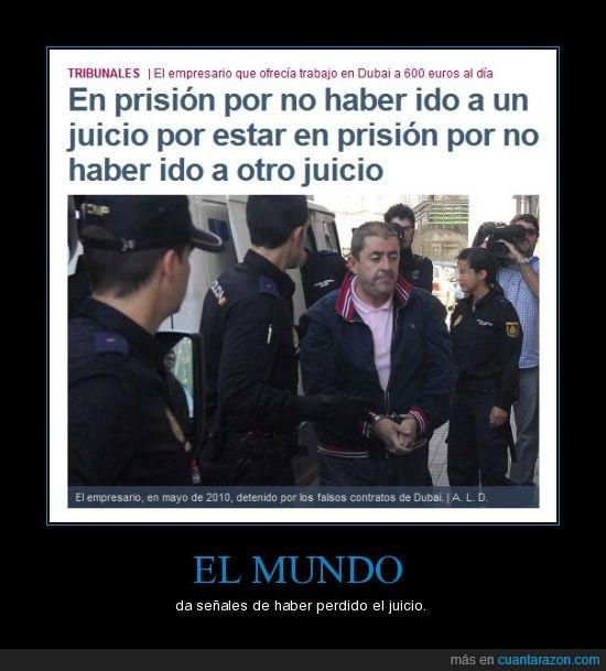 el mundo,juicio,prision