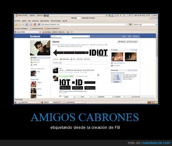 daniel,facebook,idiota