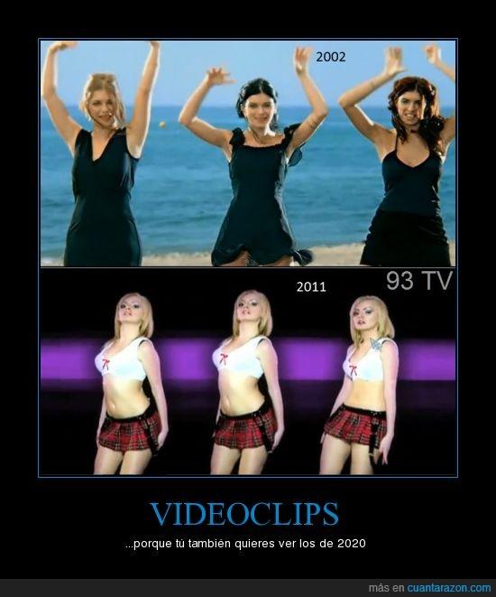evolucion,videoclip