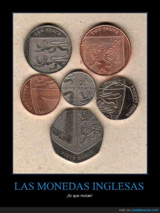escudo,Monedas inglesas