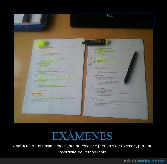 examen,fail,memoria,pregunta,recordar