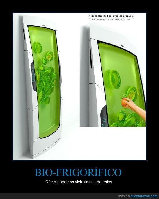 bio frigorifico,invento,nevera