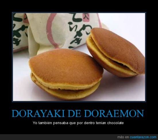 Doraemon,Dorayaki,judias