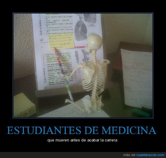 examenes finales,medicina,muerto,us